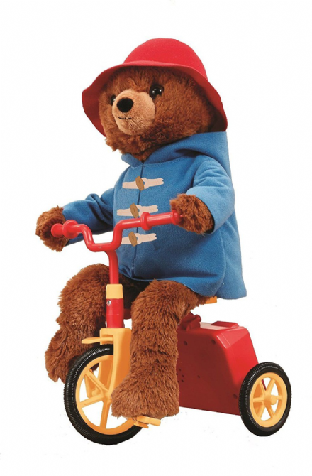Cycling Paddington Bear